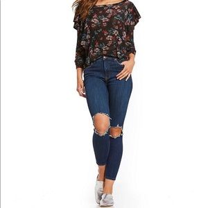 NWT Free People Busted High Rise Skinnies 🌿